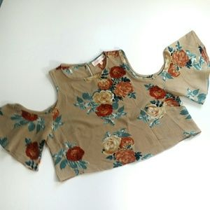For Love and Lemons crop top Size Med